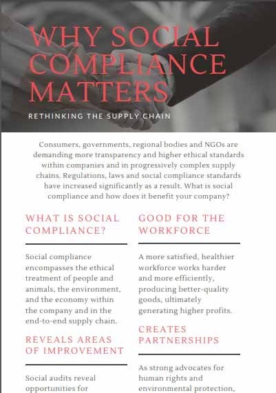 Why social compliance matters