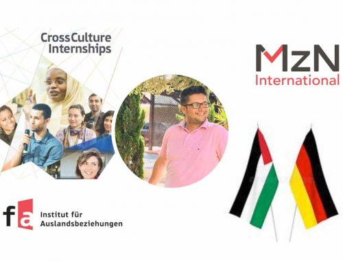 MzN Welcomes Mohammed from ifa's CrossCulture Programme